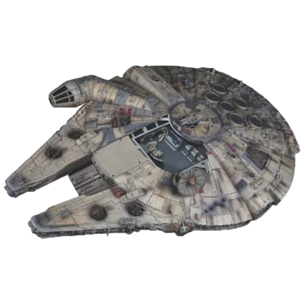 Build Your Own Full Scale Millennium Falcon Movie Model