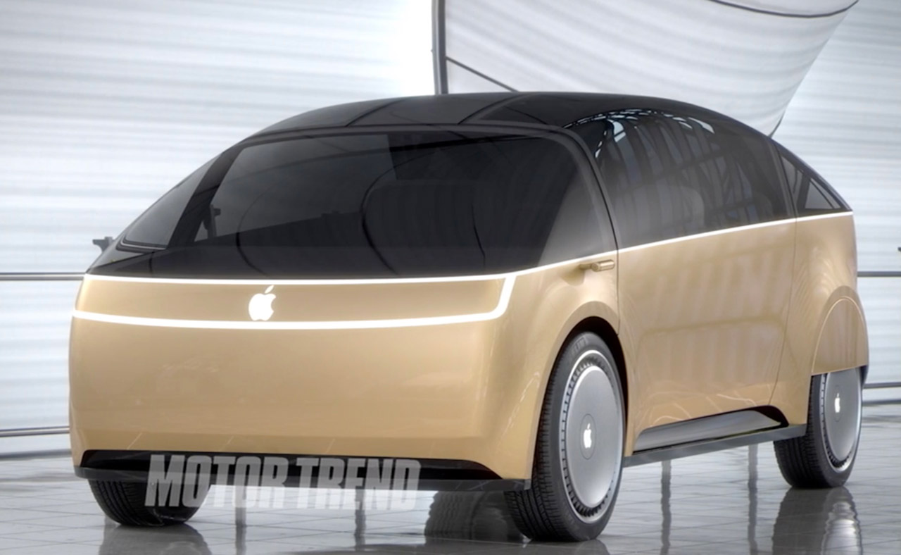 Motor Trend's Apple Car Mockup (Video)