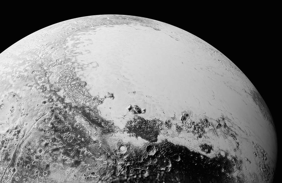 Nasa Posts Stunning New Photos of Pluto Taken by New Horizons Spacecraft