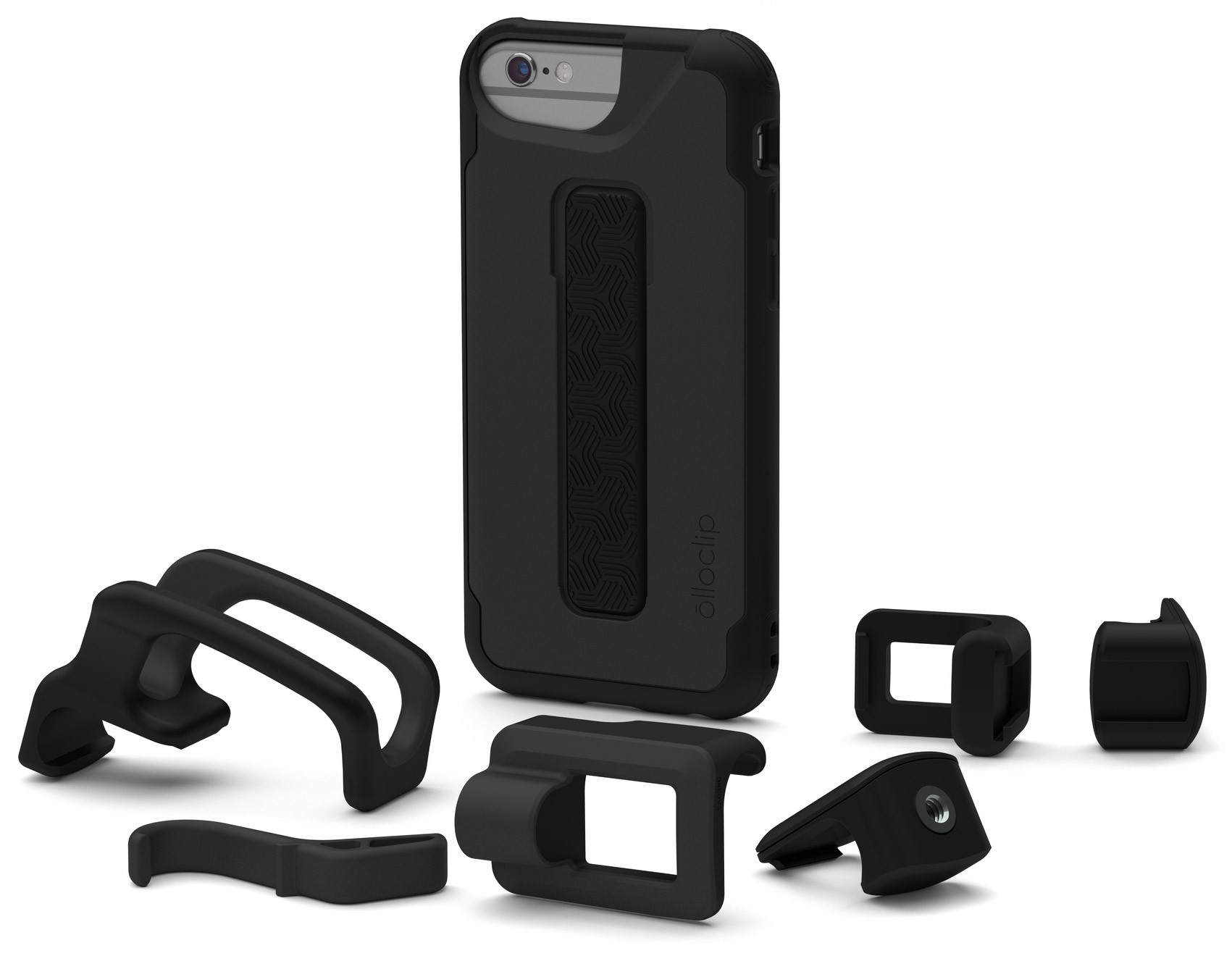 Olloclip Studio Ships - iPhone Case with Rail Mounted and Interchangeable Accessories