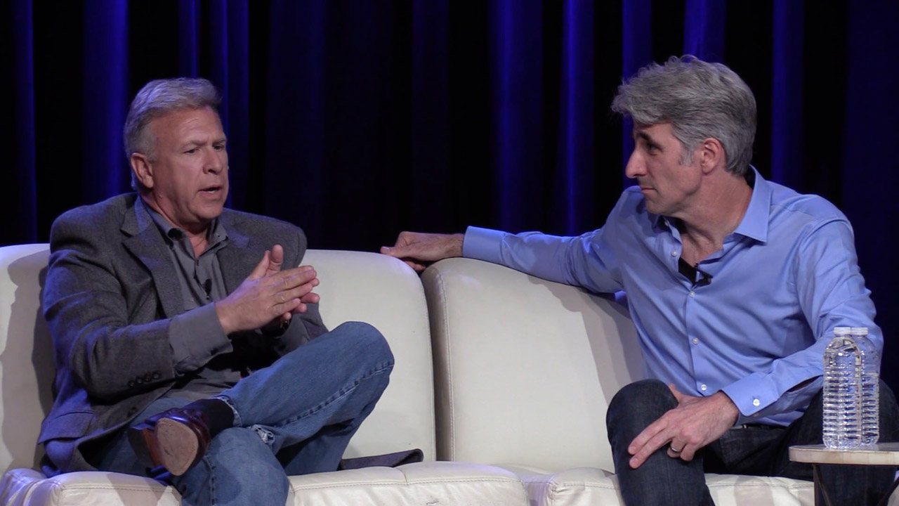 Phil Schiller and Craig Federighi