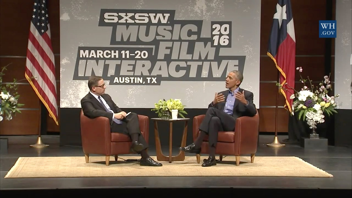 President Obama at SxSW Interactive