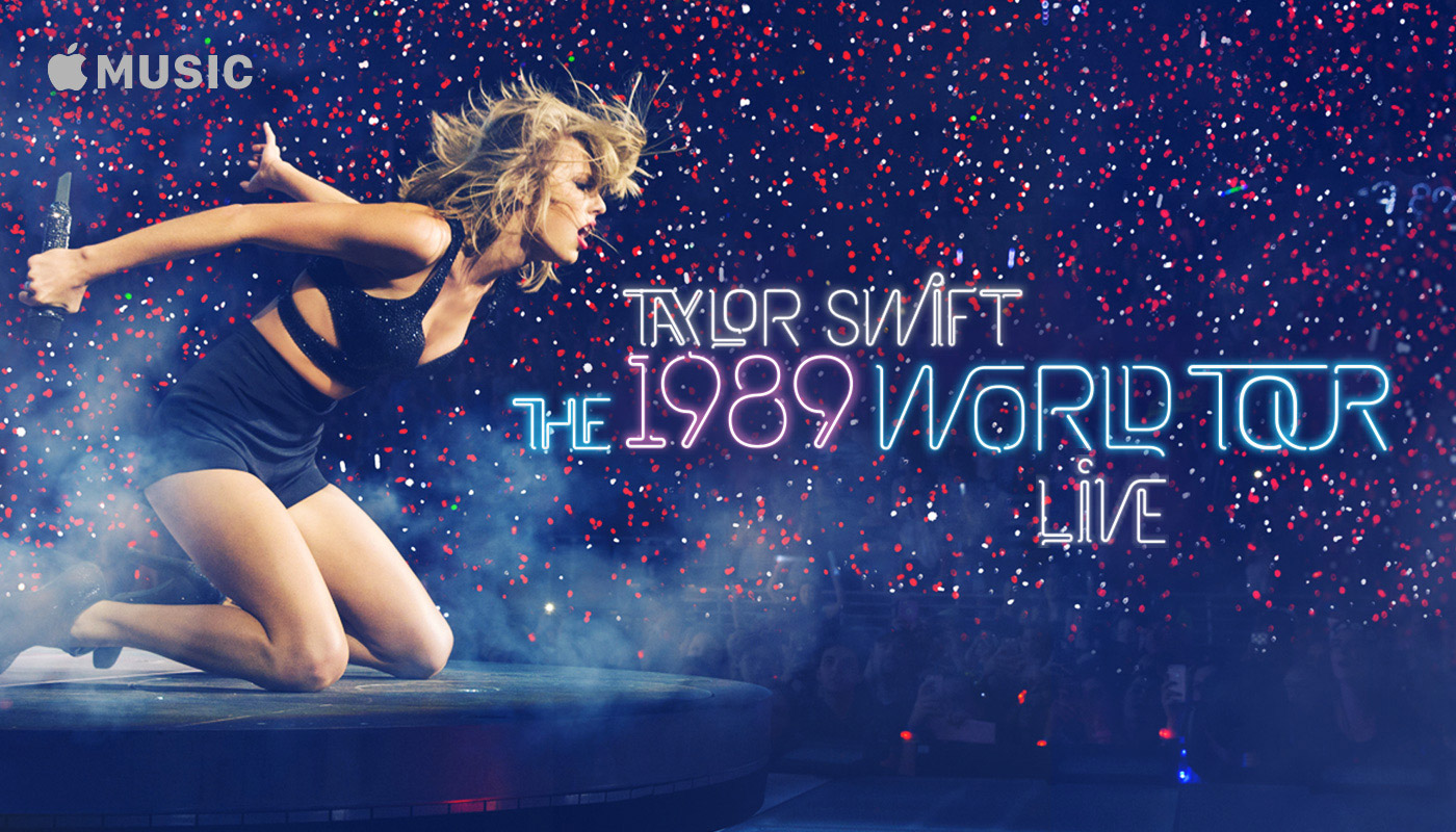 Taylor Swift 1989 World Tour Movie Premiers Exclusively on Apple Music