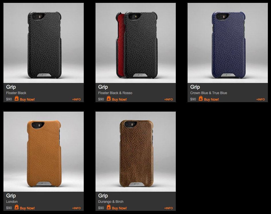 60% Off Stock Vaja Cases for iPhone, iPad
