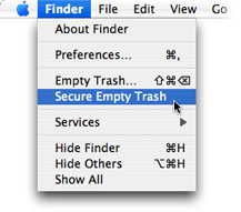 How to Secure Empty Trash
