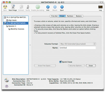 how to burn dvd on mac using disc utility