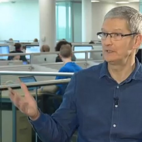 Apple CEO Tim Cook Interviewed by RTE News
