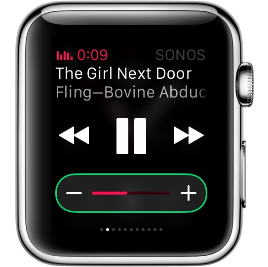iPhone Lockscreen Music Controllers Also Work on Apple Watch