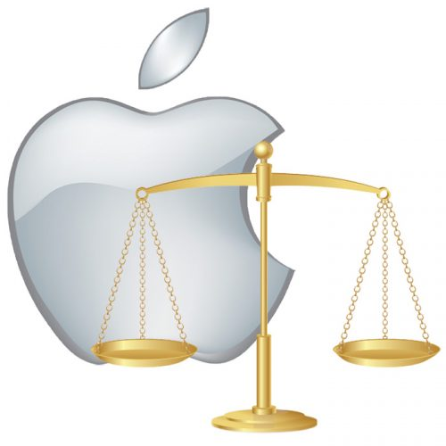 Apple legal scales