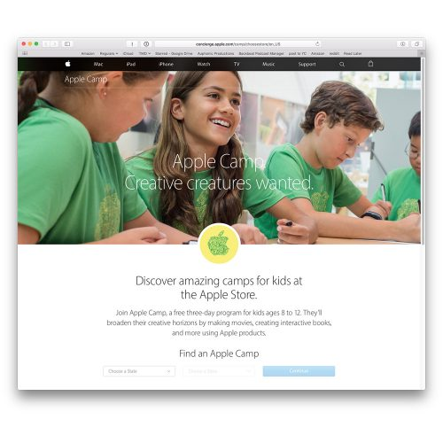 Apple Summer Camp 2016