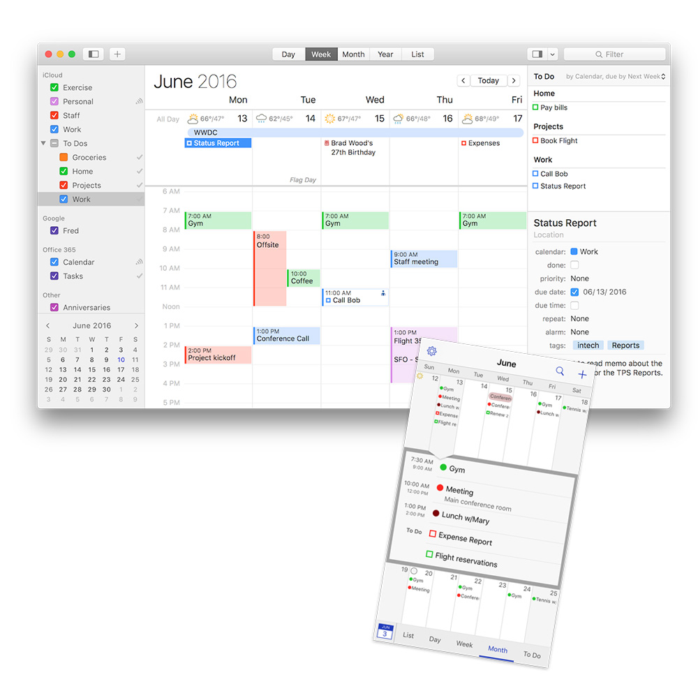 BusyCal gets a Big Upgrade and an iOS App, too