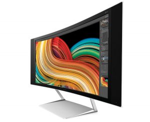 HP's Envy 34c 34-inch curved display