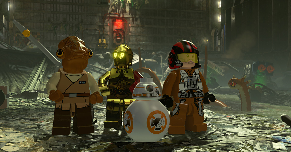 LEGO Star Wars: The Force Awakens Available for iPhone, iPad