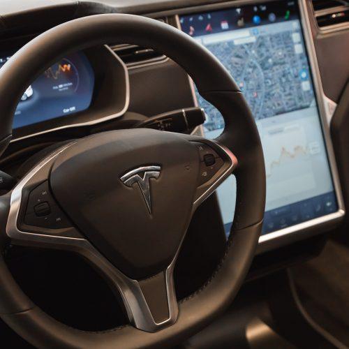 Inside a Tesla Model S cockpit