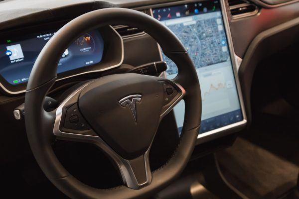 Inside a Tesla Model S cockpit