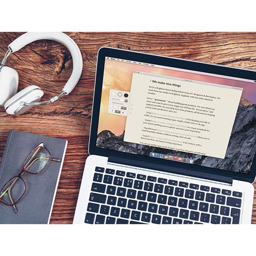 Typed Plus on MacBook