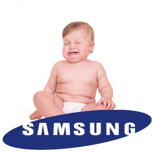 Samsung crying baby