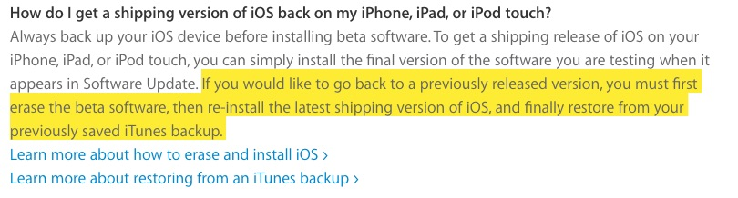 Yes, you'll have to ERASE your device to go back to iOS 9 (or whatever) after installing Apple public betas
