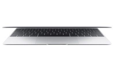 MacBook, silver