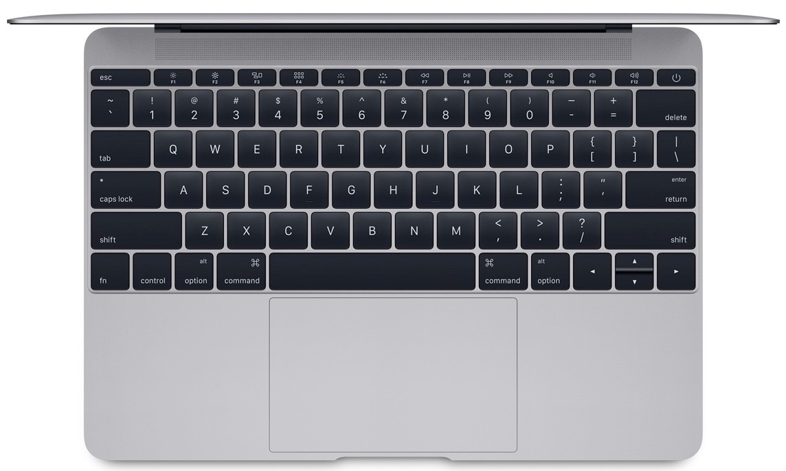 MacBook in space gray
