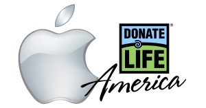 Apple and Donate Life America