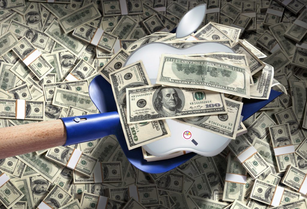 Finding Apple in a Pile of Money