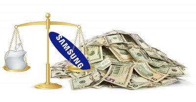 Apple v Samsung justice scales
