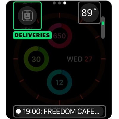 Junecloud's Deliveries app Adds Complete Set of Apple Watch Complications