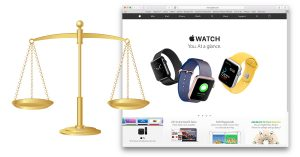 Apple hit with lawsuit for website carousel effect