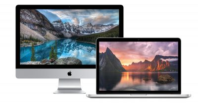 iMac and MacBook Pro