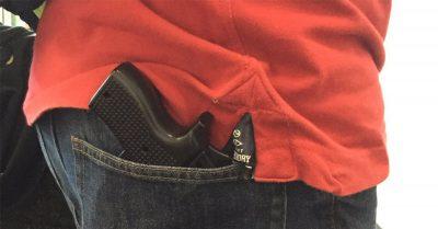 gun-shaped iPhone case