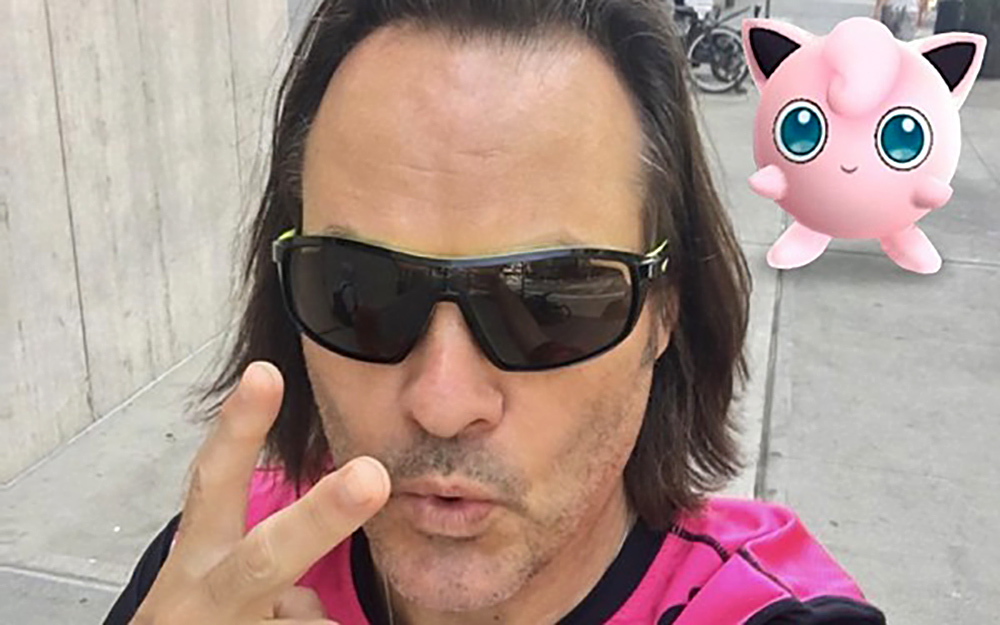 john legere t-mobile pokemon go