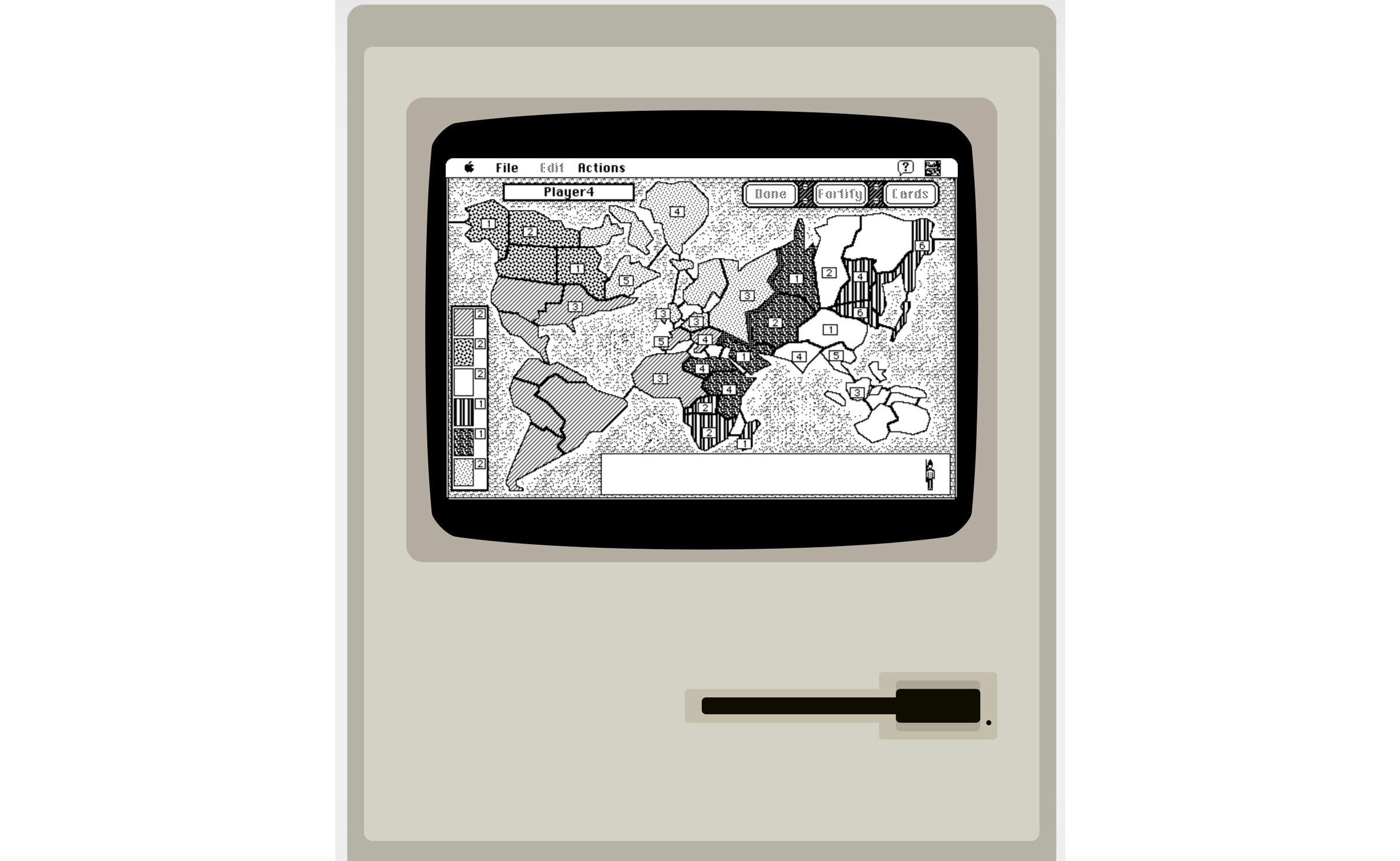 Play Risk and Oregon Trailer on MacPlus System 7 Emulator
