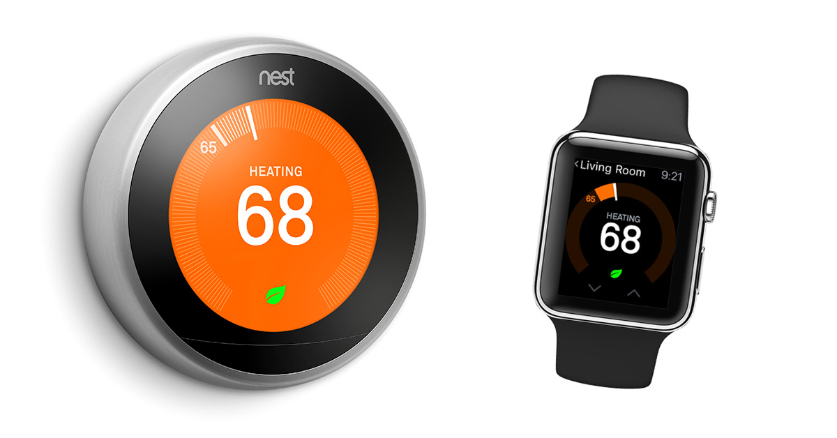 Nest Smart Thermostat App Adds Apple Watch Support