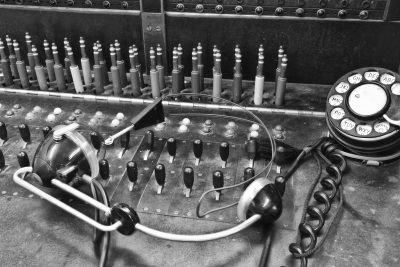 Old Telephone Equipment