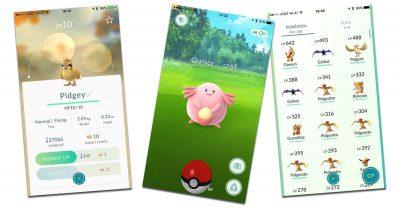 Pokémon GO character list