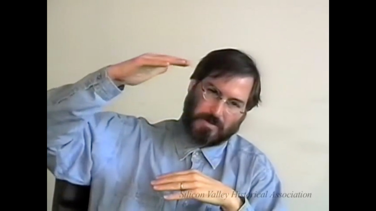 Steve Jobs 1994 video interview