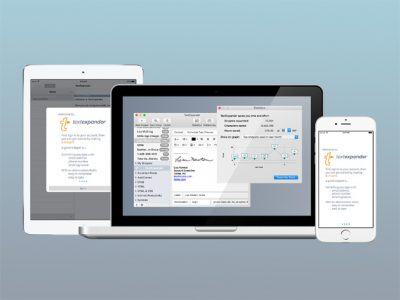 TextExpander on Mac, iOS, and Windows
