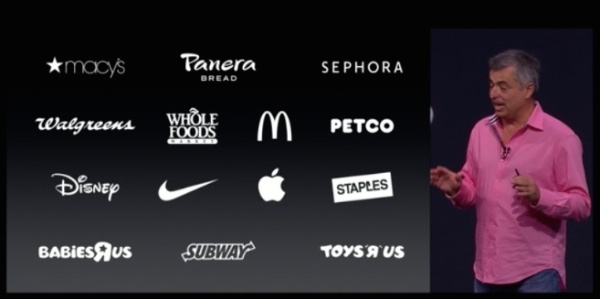 Eddy Cue introduces Apple Pay