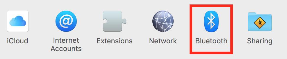Bluetooth Preferences Pane