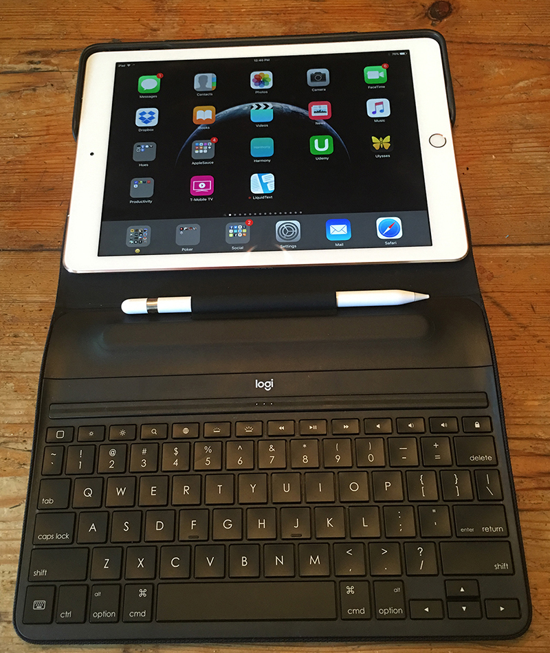 The Create case has a spot for Apple Pencil in addition to its excellent keyboard.