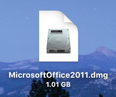 Microsoft Office Disk Image