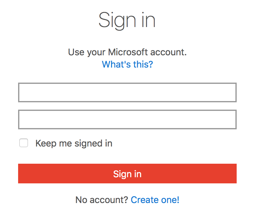 Microsoft Office Login