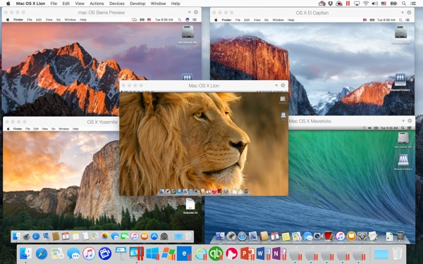 Run multiple OS X/macOS VMs on El Capitan