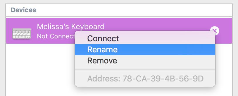 how to get rid of name in menu bar mac