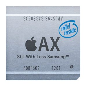 "Apple Processor with ""Intel Inside"""