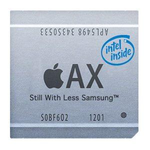 "Apple Processor with ""Intel Inside"""
