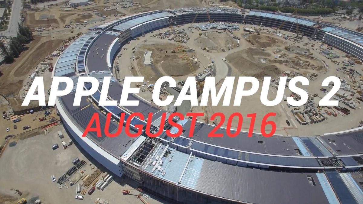 Apple Campus 2.0 Drone Screenshot