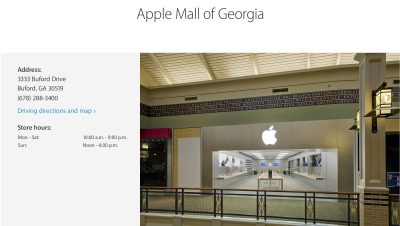 Apple Mall of Georgia