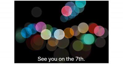 Apple September 7 media event